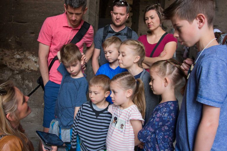 Kids visit Colosseum with a private guide with Rome for kids